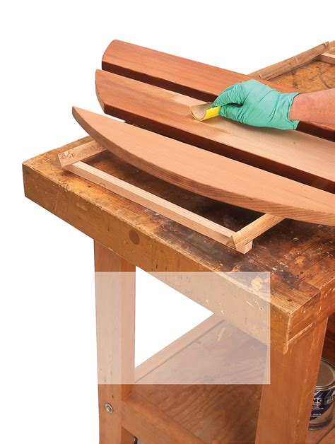 outdoor wood furniture stain what s the best wood finish for outdoor furniture