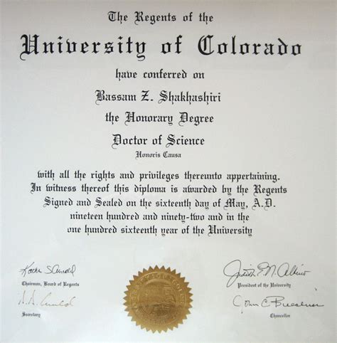 Gets Honorary Mba Degree by Collegue And Forex Degree