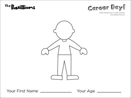 Career Day Coloring Pages Career Day Activity Fun Sheets Free Cliparts Co by Career Day Coloring Pages