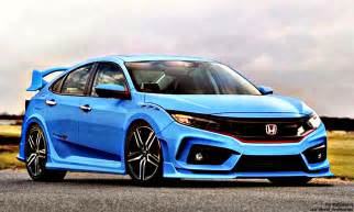 Honda Civic Type S Hd Wallpaper 10 Modefied Honda Civic Hd 2017 Turbo Type R