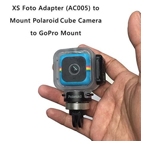 Gopro Cube mount intova polaroid cube most common cameras to gopro mounts highest quality gopro