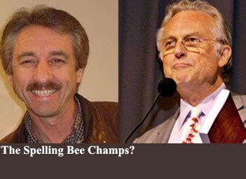 richard dawkins ray comfort oxford professor locks horns with evangelist over spelling
