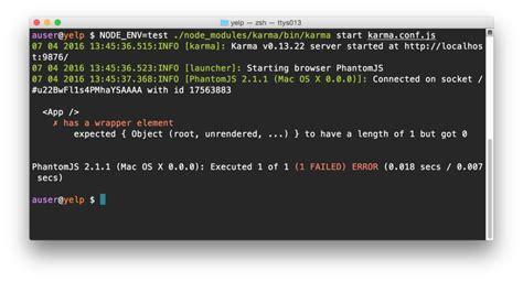 node js karma tutorial fullstack react react tutorial cloning yelp
