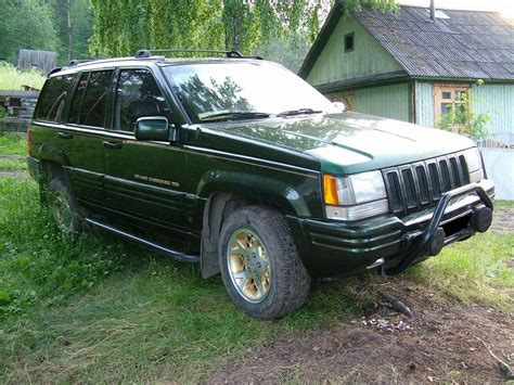 Jeep Limited 1995 1995 jeep grand limited pictures 5200cc