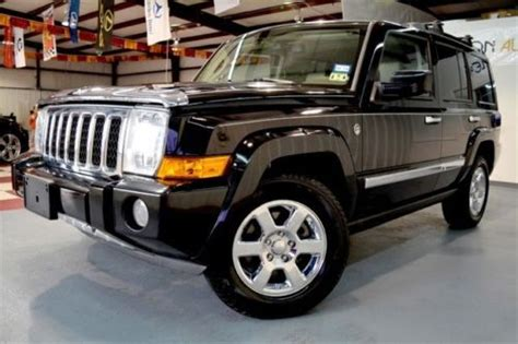 2008 Jeep Commander Overland For Sale Sell Used 2008 Jeep Commander Overland 4x4 Hemi Navi Htd