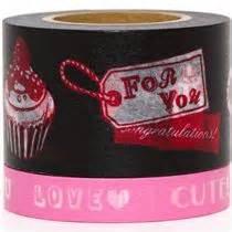 Japan Tosca And Ribbon Washi Sle Set washi masking deco set 2pcs with cupcakes deco sets deco stationery