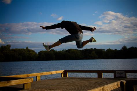 Jumping On The jumping free stock photo domain pictures