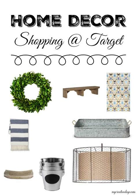 target home decor promotion my creative days
