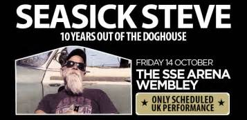 seasick steve dog house seasick steve s 10 years out of the dog house party an exclusive uk