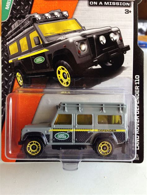 Match Box Land Rover Defender 110 Mbx Explore Matchbox