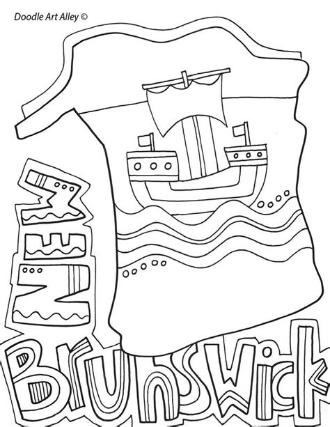 coloring page of niagara falls niagara falls colouring pages best image high definition