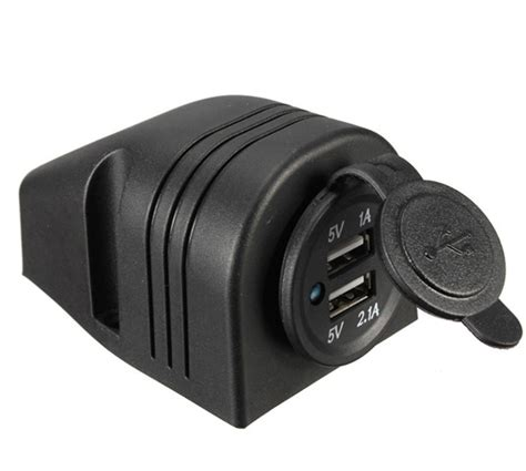 Car Power Socket Portable Lighter Usb Charger 12v dual usb port 12v boat car cigarette lighter socket charger power adapter outlet ebay
