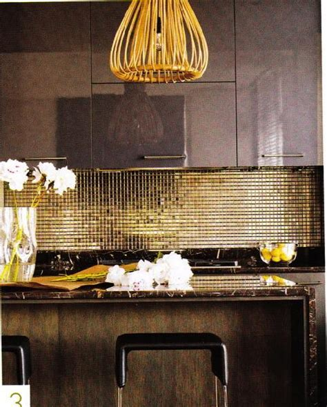 Golden Kitchen by Attractive Kitchen Tile Backsplash Decozilla
