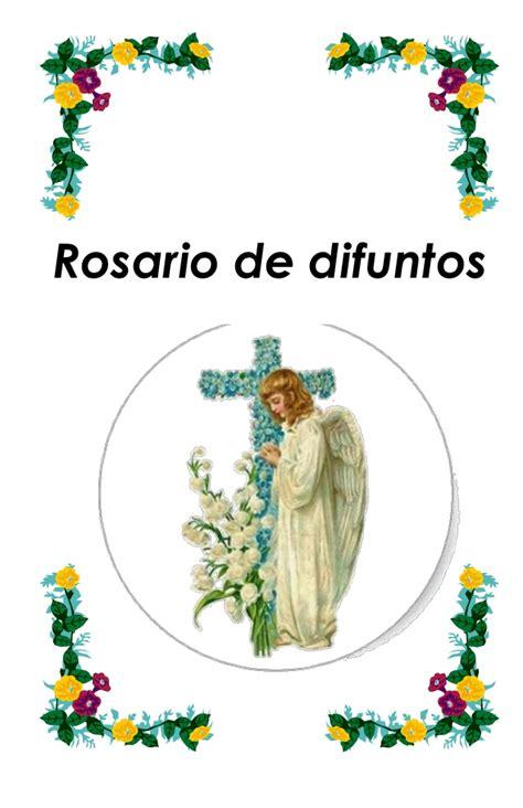 rosario novenario para los difuntos rosario para difuntos y levantada de mejor conjunto
