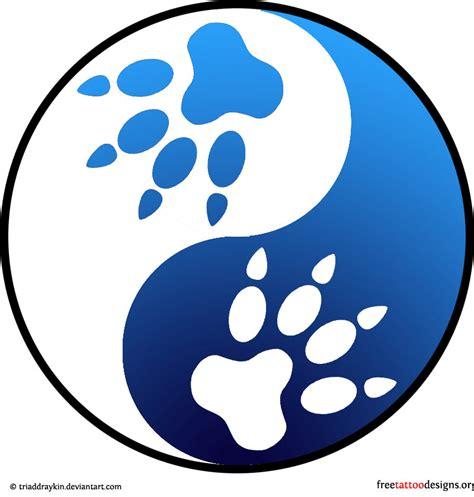 wolf yin yang tattoo symbols signs www pixshark images