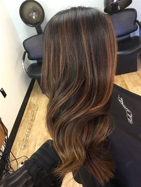 Types Of Highlights For Black Hair by 25 Beautiful Partial Highlights Ideas On