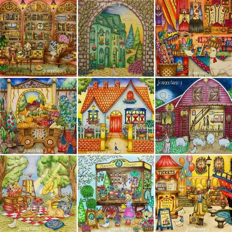 romantic country the third 1250133831 all from romantic country the third tale colouring in this book has really romantic country