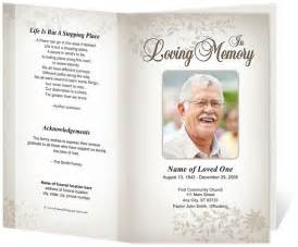 Funeral Templates Free by Ceasar Preprinted Title Letter Single Fold Program Funeral