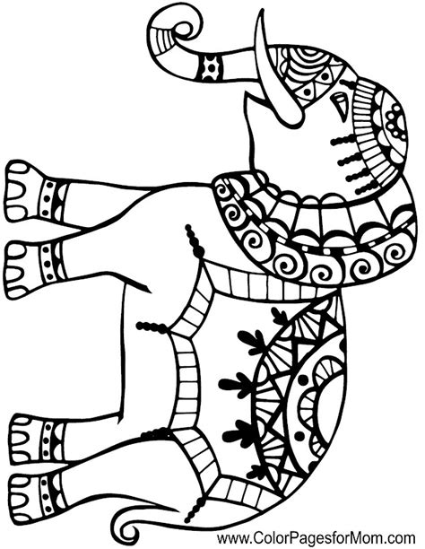 mosaic elephant coloring page mosaic elephant coloring pages coloring pages