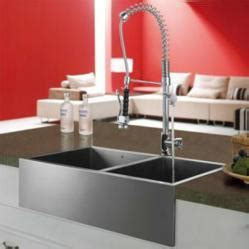 A Selection Stainless Steel Sinks and Modern Kitchen