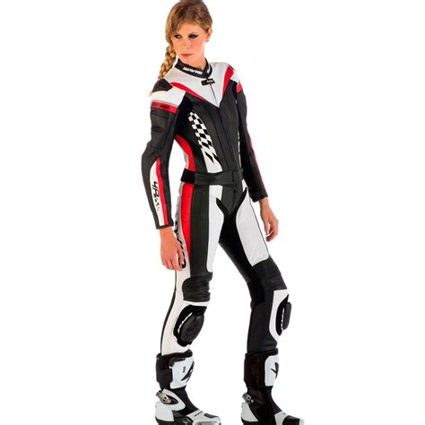 motorcycle leather suit spyke 4race div leather motorcycle suits for women