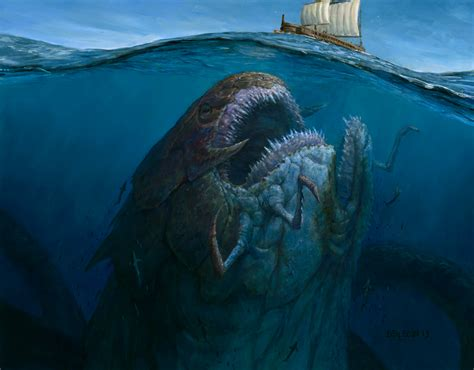 film gta dinosaurus huge sea monster about to sink a ship 7 seas of horror