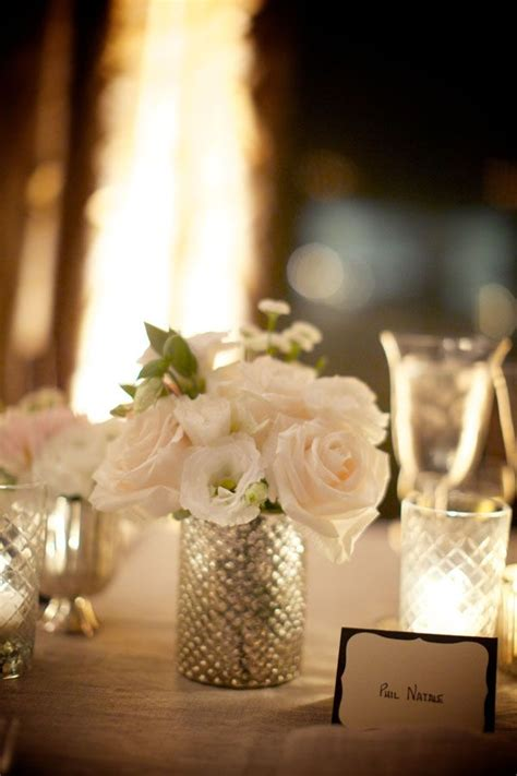 Glass Vase Wedding Centerpiece by 25 Best Ideas About Mercury Glass Wedding On