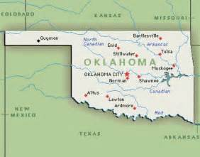 oklahoma map 10 interesting oklahoma facts my interesting facts