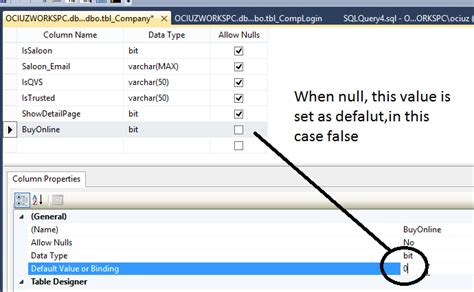 Sql Change Value In Table Sql Server How To Set A Default Value When The Column Is Null Questionfocus
