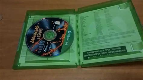 Xbox One Sunset Overdrive Day One Edition Reg3 unboxing sunset overdrive xbox one day one edition ita