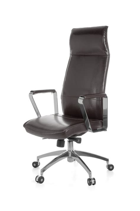 Real Leather Computer Chair Amstyle Executive Office Chair Verona Real Leather