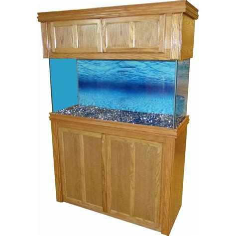 Oak Cabinet Fish Tanks by R J Oak Crown 48 Quot Lx18 Quot W Rectangular Aquarium Stand Fish