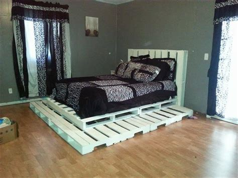 fascinating diy pallet bed designs