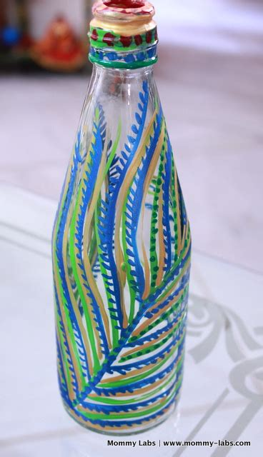 Painting Glass Jars by Painted Glass Bottles And Jars Different Ways To Paint