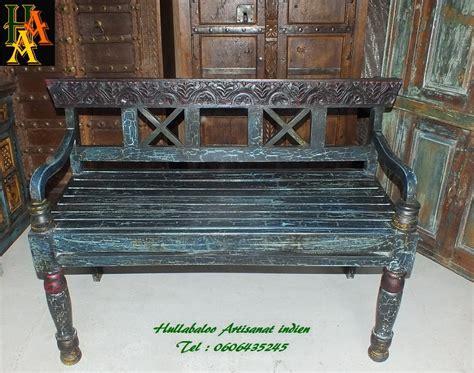 banc indien banc vieux banc indien jn7 la629 meubles indiens banc