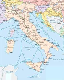 Italy Rail Map by Eurail Map Italy Images