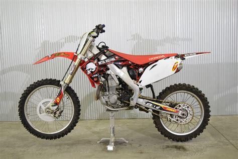 motocross bike finance 2010 honda crf450r 4 stroke dirt bike with extra s