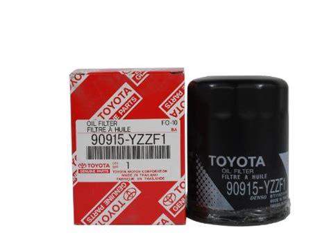 toyota genuine parts 90915 yzzf1 filter vehicles