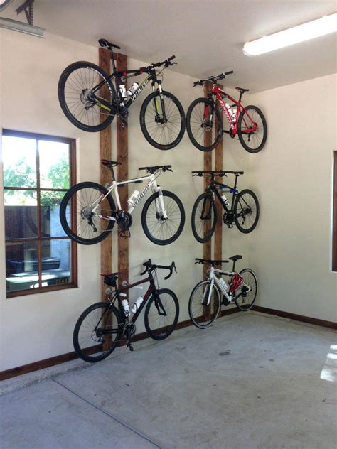bike storage ideas for garage