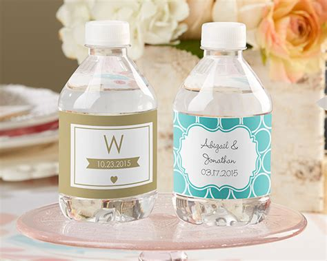 Wedding Favors Water Bottles by Personalized Wedding Water Bottle Labels My Wedding Favors