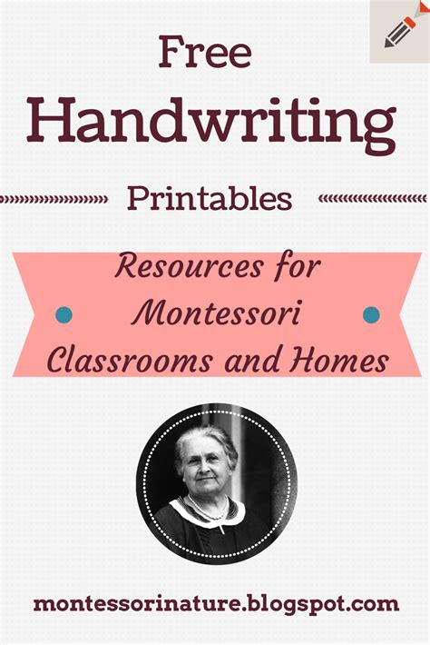 montessori nature free montessori math worksheets montessori worksheets for toddlers traceable calligraphy