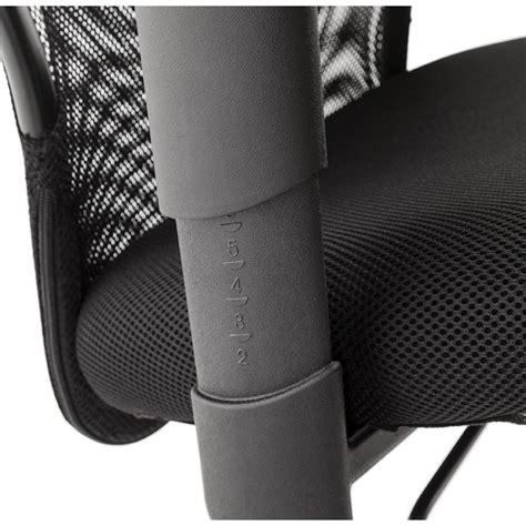 fauteuil de bureau en tissu quot lode quot noir
