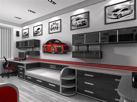 vw bedroom accessories top 20 car themed bedrooms for kids and adults