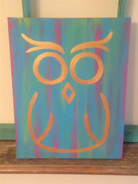 Easy Paintings by 30 Easy Canvas Painting Ideas Canvases