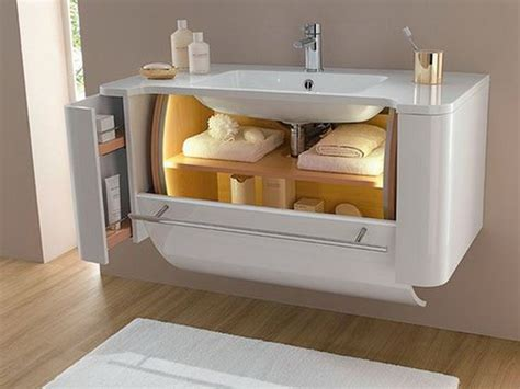 Bathroom Vanity Storage Solutions Creative Solutions To Maximize The Bathroom Storage Stylish