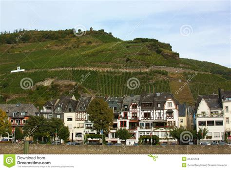banks germany on the banks of the mosel river germany stock images