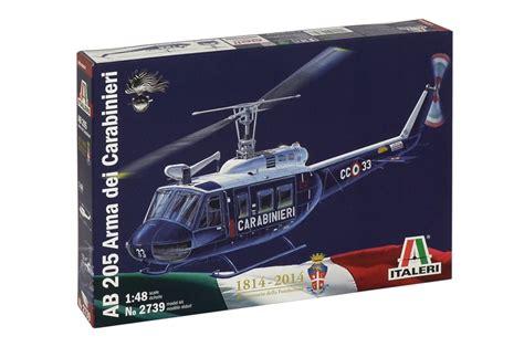 Motorrad Anmelden Italienische Papiere by Italeri Bell Ab 205 Arma Dei Carabinieri 1 48 Ita2739
