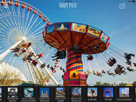 pier education app shopper navy pier visitor guide education