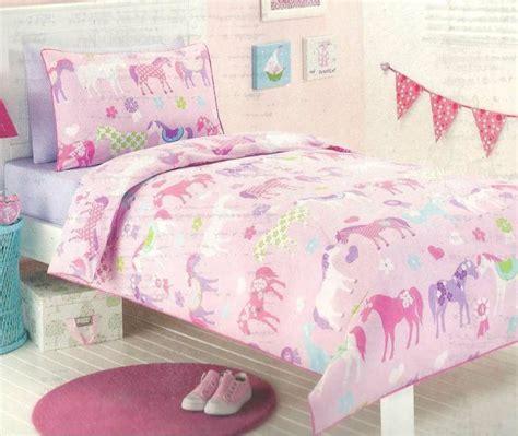 horse bedding sets twin twin bedding set horses pony park horses pink girls