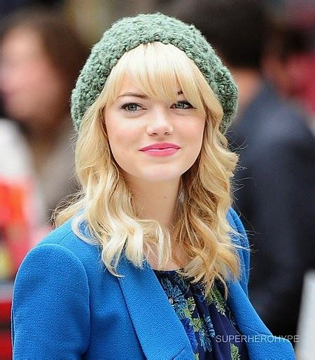 emma stone blonde film the daily audrey amazingly cool style gwen stacy